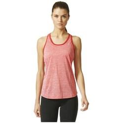Îmbracaminte Femei Maiouri și Tricouri fără mânecă adidas Originals Keyhole Tank Roșii