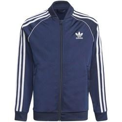 Îmbracaminte Băieți Bluze îmbrăcăminte sport  adidas Originals GN8452 Albastru marim