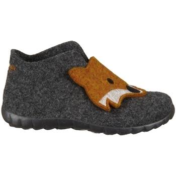 Pantofi Copii Papuci de casă Superfit Happy Lavagna Kombi Wollfilz Grafit