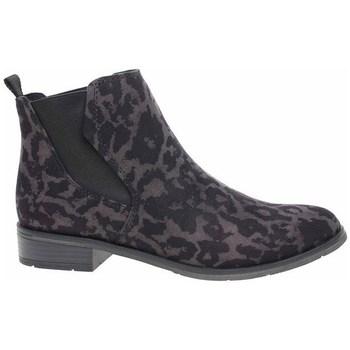 Pantofi Femei Pantofi sport stil gheata Marco Tozzi 222532133241 Negre, Cafenii