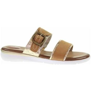 Pantofi Femei Papuci de vară Jana 882710726339 Cafenii
