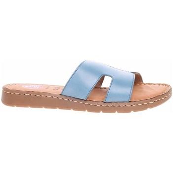 Pantofi Femei Papuci de vară Jana 882711526843 Albastre