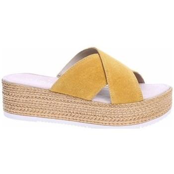 Pantofi Femei Papuci de vară S.Oliver 552720022602 Bej, Culoarea mierei