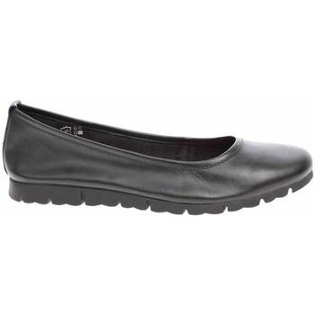 Pantofi Femei Balerin și Balerini cu curea Jana 882211926001 Negre
