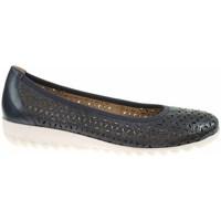 Pantofi Femei Balerin și Balerini cu curea Caprice 992215524876 Negre