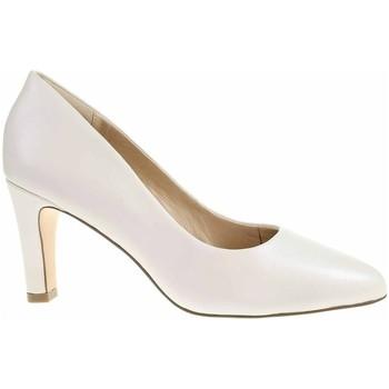 Pantofi Femei Pantofi cu toc Caprice 992240024139 Crem
