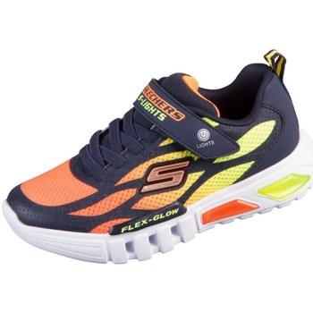 Pantofi Copii Pantofi sport Casual Skechers Flex Glow Portocalie, Galbene, Grafit