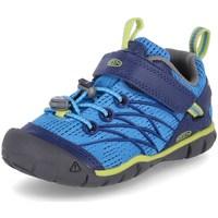 Pantofi Băieți Drumetie și trekking Keen Chandler Cnx Albastre
