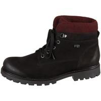 Pantofi Femei Ghete Remonte Dorndorf D747604 Negre, Vișiniu