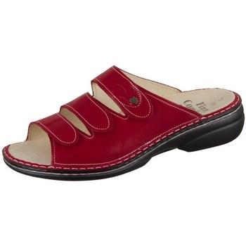 Pantofi Femei Papuci de vară Finn Comfort Kos Roșii, Vișiniu