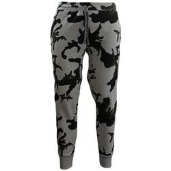 Îmbracaminte Bărbați Colanti Nike Camouflage Jogginghose Negre, Gri, Verde