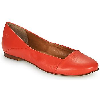Pantofi Femei Balerin și Balerini cu curea Casual Attitude PATTIA Roșu
