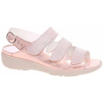 Pantofi Femei Sandale  Waldläufer 684002200139 De aur, Bej