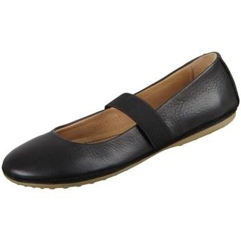 Pantofi Copii Balerin și Balerini cu curea Bisgaard Quinn Negre