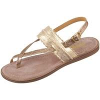 Pantofi Fete Sandale  Bisgaard 719321211128 De aur