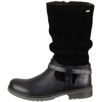 Pantofi Fete Cizme casual Lurchi Lia Negre