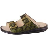 Pantofi Femei Papuci de vară Finn Comfort Lipari Negre, Verde