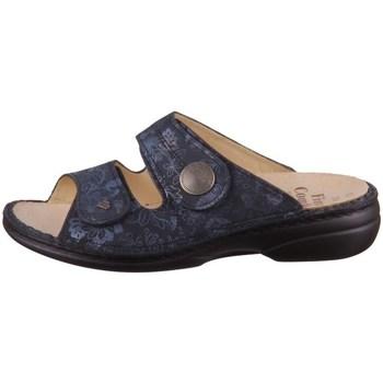 Pantofi Femei Papuci de vară Finn Comfort Sansibar Albastru marim