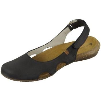 Pantofi Femei Sandale  El Naturalista Wakataua Negre