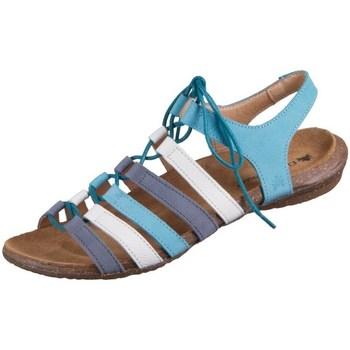 Pantofi Femei Sandale  El Naturalista Wakataua Alb, Albastre, Violete