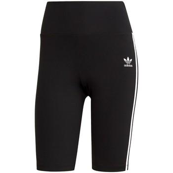 Îmbracaminte Femei Pantaloni trei sferturi adidas Originals Szorty High Waisted Shorts Tights Primeblue Negre