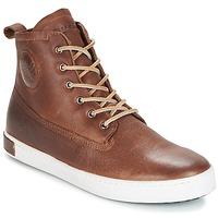 Încăltăminte Bărbați Pantofi sport stil gheata Blackstone INCH WORKER ON FOXING FUR Maro