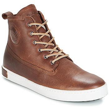 Pantofi Bărbați Pantofi sport stil gheata Blackstone INCH WORKER ON FOXING FUR Maro