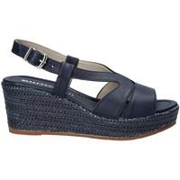 Pantofi Femei Sandale  Valleverde 32211 Albastru
