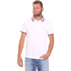 Îmbracaminte Bărbați Tricou Polo mânecă scurtă Trussardi 52T00491-1T003600 Alb
