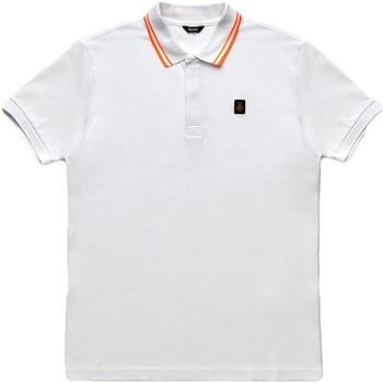 Îmbracaminte Bărbați Tricou Polo mânecă scurtă Refrigiwear RM0T24000PX9032 Alb