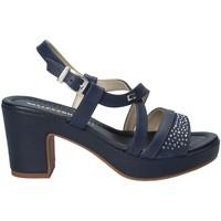Pantofi Femei Sandale  Valleverde 32501 Albastru