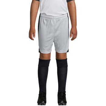 Îmbracaminte Băieți Pantaloni scurti și Bermuda Sols OLIMPICO KIDS pantalón corto Blanco