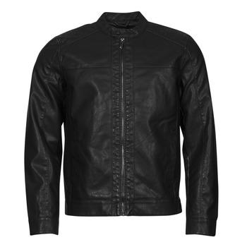 Îmbracaminte Bărbați Jachete din piele și material sintetic Only & Sons  ONSMIKE Negru
