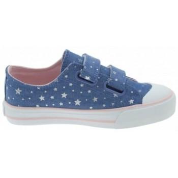 Pantofi Fete Pantofi sport Casual MTNG ZAPATILLAS VELCRO NIÑA MUSTANG 47289 albastru