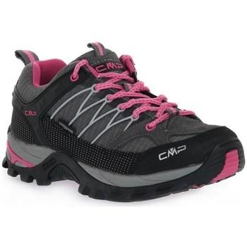 Pantofi Femei Drumetie și trekking Cmp Rigel Low Wmn Negre, Grafit