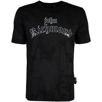 Îmbracaminte Bărbați Tricouri mânecă scurtă John Richmond  Negru