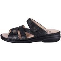Pantofi Femei Papuci de vară Finn Comfort Ventura Negre