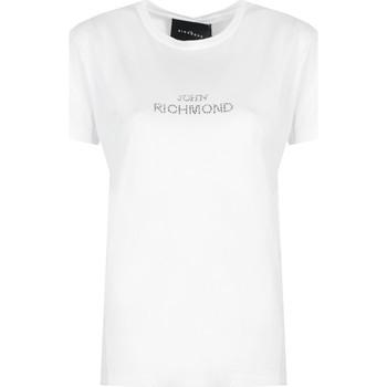 Îmbracaminte Femei Tricouri mânecă scurtă John Richmond  Alb