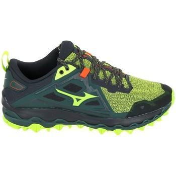 Pantofi Bărbați Trail și running Mizuno Wave Mujin Vert verde