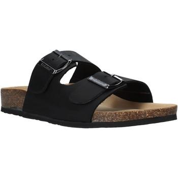 Pantofi Bărbați Papuci de vară Bionatura 11THESU-I-CRHNER Negru
