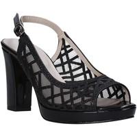 Pantofi Femei Sandale  Valleverde 45552 Negru