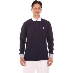 Îmbracaminte Bărbați Tricou Polo manecă lungă Navigare NV32024 Albastru