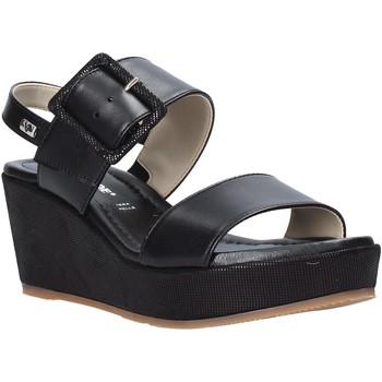 Pantofi Femei Sandale  Valleverde 32213 Negru