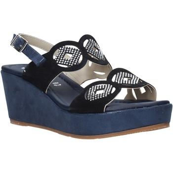 Pantofi Femei Sandale  Valleverde 32214 Albastru