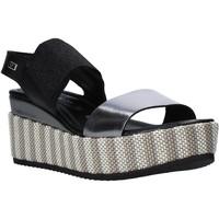 Pantofi Femei Sandale  Valleverde 32430 Negru