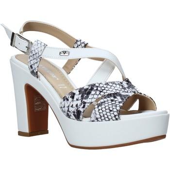 Pantofi Femei Sandale  Valleverde 32520 Alb