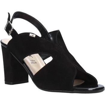 Pantofi Femei Sandale  Valleverde 38564 Negru