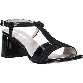 Pantofi Femei Sandale  Valleverde 45145 Negru