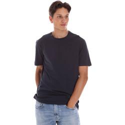 Îmbracaminte Bărbați Tricouri mânecă scurtă Ciesse Piumini 215CPMT01455 C2410X Negru