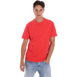 Îmbracaminte Bărbați Tricouri mânecă scurtă Ciesse Piumini 215CPMT01455 C2410X Roșu